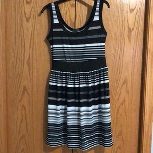 BeBop sleeveless striped dress